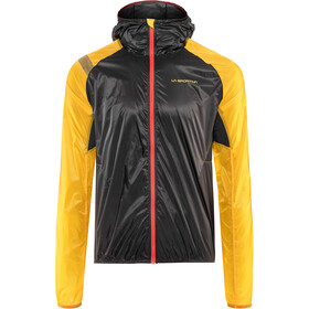 La Sportiva Blizzard Windbreaker Chaqueta Hombre, black/yellow